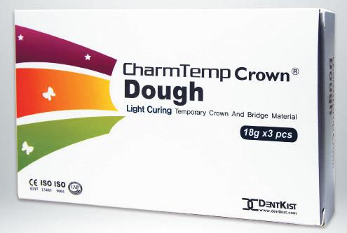 ماده ساخت روکش و بریج موقت (CharmTemp Crown Dough)